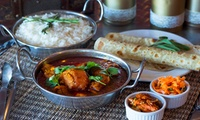 Three-Course Authentic Indian Fine Dining Experience from R189 for Two at Dalchini Restaurant (Up to 36% Off)