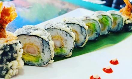 Menú para 2 o 4 personas con entrante, bandeja de sushi y bebida desde 24,99 € en Hawaii Sushi Bar