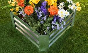 Raised Garden Bed Plant Holder Kit with Adjustable Galvanized Iron