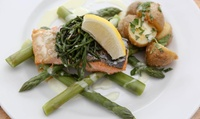 Two-Course Meal with Wine for Two or Four at The Swan (Up to 40% Off)