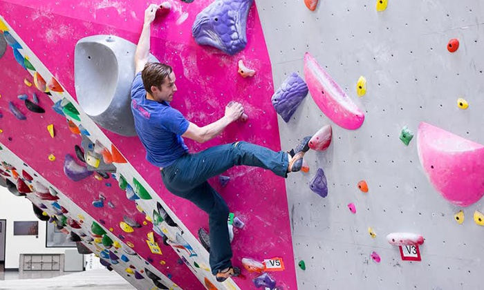 Origin Climbing and Fitness - Henderson: One-Month Membership with Optional Class, or Passes for Four at Origin Climbing and Fitness (Up to 61% Off)