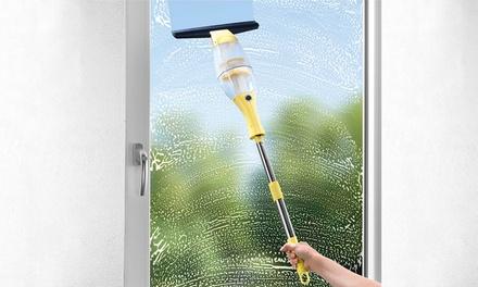 CleanMaxx Akku-Fensterreiniger mit Verlängerungsstange (Koln)