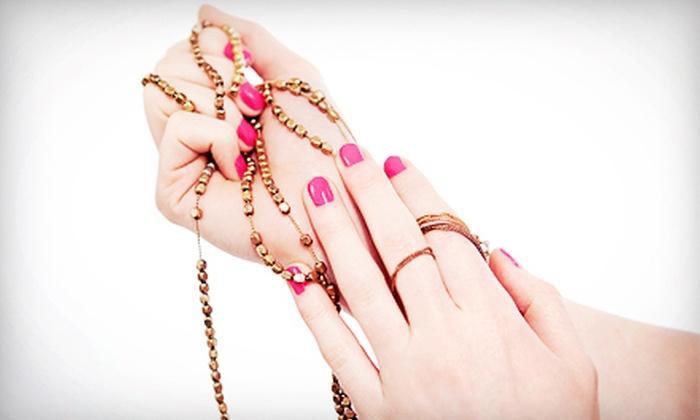 Versailles Salon & Spa - Modesto: One or Three Shellac Manicures at Versailles Salon & Spa (Up to 57% Off)