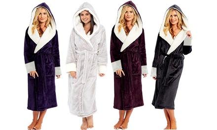 Women's Fleece Robe: One $29 or Two $54