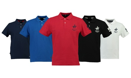 Polo homme Geographical Norway, modèle Kampai, 100% coton