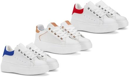 Sneakers donna Berty e Grace disponibili in 2 modelli e vari colori