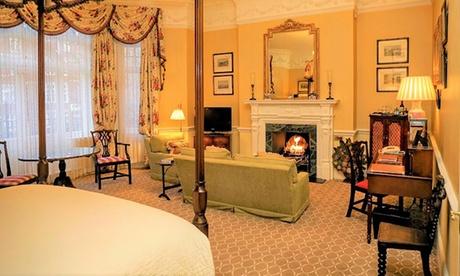Londres: estancia para 2 personas con desayuno, champán, chocolate de la casa, té y galletas en Hotel Draycott 5*