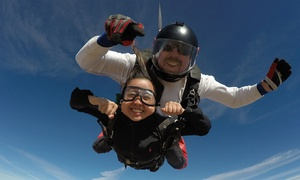 Up to 27% Off Tandem Skydive with Bay Area Skydiving at Bay Area Skydiving, plus 6.0% Cash Back from Ebates.