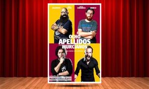 """Teatro Arlequín: Entrada a """"Ocho Apellidos Murcianos"""" el sábado 17 de marzo por 12 € en Teatro Arlequín"""