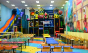 Tik Tocs Playland & Cafe: Single Weekday ($5) or Weekend ($6) Entry or 10-Visit Pass to Tik Tocs Playland & Cafe for One Child (Up to $130 Value)