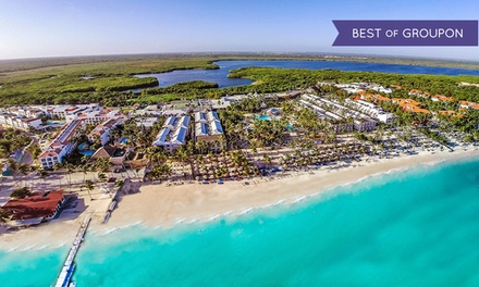 ✈ 4, 6, or 7 Night Be Live Collection Punta Cana All-Inclusive Trip w/ Nonstop Air. Price/Person Based on Double Occ.