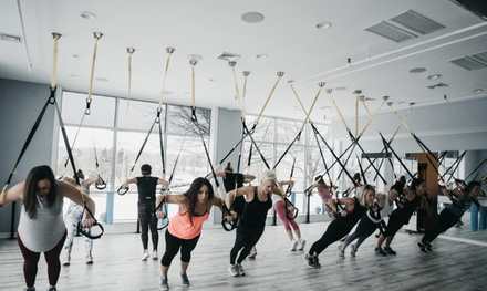 Five- or Ten-Class Pass for Barre, Yoga, TRX, Pilates and Cycling Classes at I Am Limitless (Up to 48% Off)