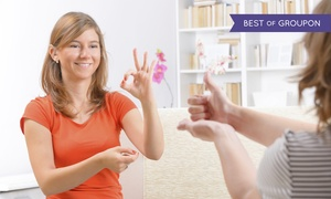 International Open Academy: $8 for an Online American Sign Language Course from International Open Academy ($299 Value)