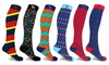 XTF Knee High Pro Zone  Compression Socks  (3-Pairs or 6-Pairs)