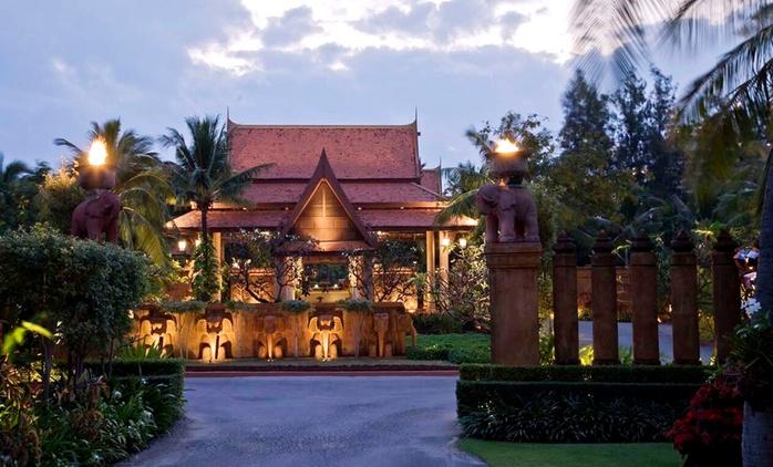 Hua Hin: 3 Nights for Two with Breakfast and Dinner at 5* Anantara Hua Hin Resort