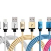 Rhino Double-Braided Nylon Charge and Sync microUSB Cables