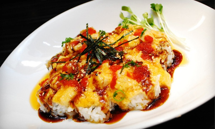 Om Sushi - Keller: $10 for $20 Worth of Japanese and Korean Cuisine for Two or More at Om Sushi