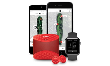 Game Golf Digital Tracking Device