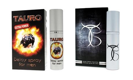Prodotti ritardanti Tauro disponibili in 2 tipologie in formato da 5 ml