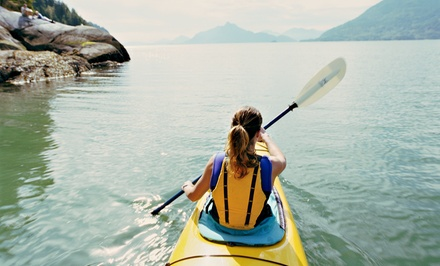 Canoe Rental for 2 or Kayak Rental for 1 from Ozarks Extreme Outdoors Kayak and Canoe Company (Up to 46% Off)