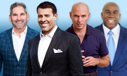 Wealth Expo with Tony Robbins, Grant Cardone, Magic Johnson, and Special Performance by Pitbull (October 13–14)