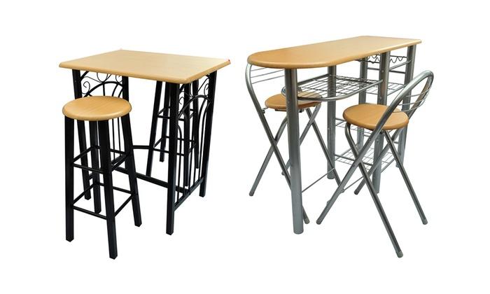 Verwonderlijk Bartafel met barkrukken/-stoelen | Groupon Goods WY-69