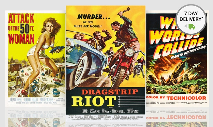 """32""""x22"""" Vintage Movie Posters : 32""""x22"""" Vintage Movie Posters. Multiple Posters Available. Free Shipping and Returns."""