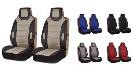 Automotive Front-Seat Cushion Set (2-Piece)