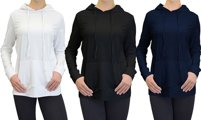 69% Off on Women's Pullover Hoodie | Groupon Goods