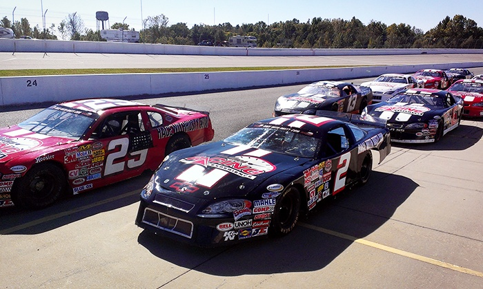 Rusty Wallace Racing Experience - Agassiz Speedway: Stock Car Racing Experience or Ride-Along at Rusty Wallace Racing Experience (Up to 57% Off)