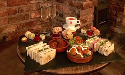 Smokehouse Afternoon Tea with Optional Prosecco for Two or Four at Freemasons Pub & Smokehouse
