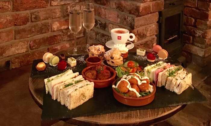 Freemasons Pub & Smokehouse - Town centre: Smokehouse Afternoon Tea with Optional Prosecco for Two or Four at Freemasons Pub & Smokehouse