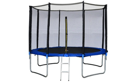 trampolines jump4fun groupon shopping. Black Bedroom Furniture Sets. Home Design Ideas