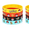 Pokemon Party Rubber Bracelet Wristband (4-, 8-, or 24-Pack)
