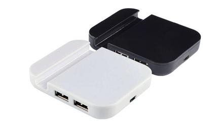 USB 2.0 Hub Phone Stand