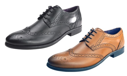 Frank James Men's Leather Brogues