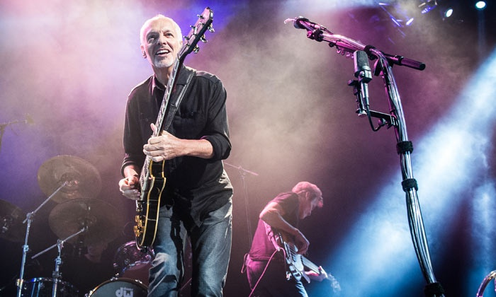 Peter Frampton and The Doobie Brothers - Nikon at Jones Beach Theater: Peter Frampton and The Doobie Brothers at Nikon at Jones Beach Theater on July 13 at 7 p.m. (Up to 40% Off)