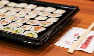 Sushi Sushi - Stockland Riverton: One ($29) or Two ($55) 48-Piece Sushi Platters from Sushi Sushi, Stockland Riverton (Up to $90 Value)