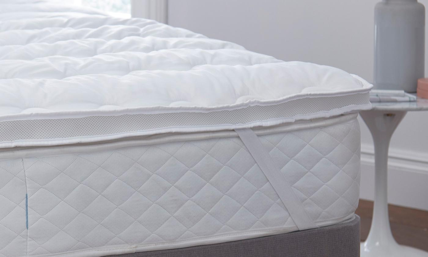 Silentnight Airmax 300 Mattress Topper from £21.98 (65% OFF)