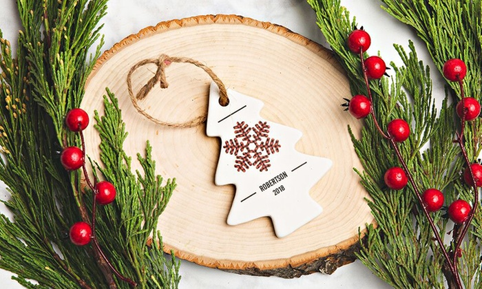 a2dbc33732b6 Up To 77% Off on Personalized Christmas Ornaments | Groupon Goods
