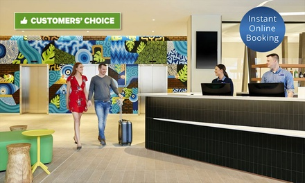 Adelaide: 1-3 Nights for Two People with Brekky, Late Check-Out and Option for Wine and Parking at 4* CBD Mystery Hotel