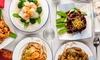 Takeaway Meat Noodle Dish