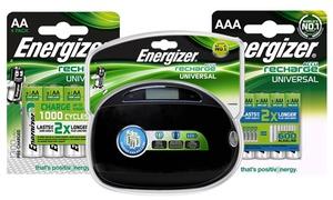 Piles rechargeables et chargeur  Energizer