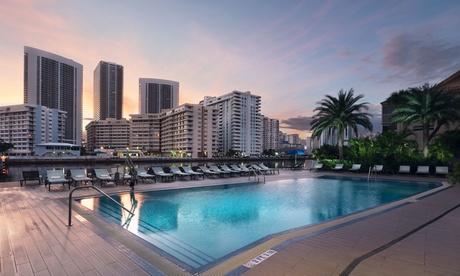Stay at 4-Star Beachwalk Resort in Hallandale, FL