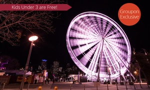 Brisbane Wheel Pty Ltd: The Wheel of Brisbane - One ($11), Two ($21) or Four Tickets ($40), or Private Gondola ($59) (Up to $110 Value)