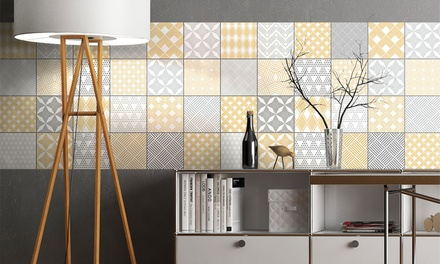 24 Wall Stickers Tiles in Choice of Design