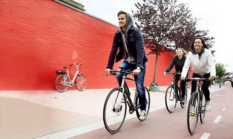 """2 Std. Fahrradtour """"Berlin by Bike"""" für 1, 2, 4 oder 8 Personen bei der Fahrradstation"""