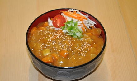 Japanese Curry Bowl with Drink for One $8 or Two People $15 at Sushi On Milton Up to $26.60 Value