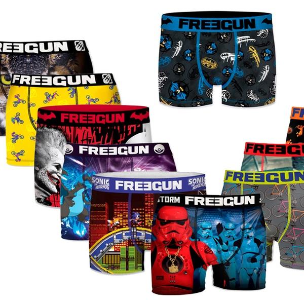 La Freegun Modèles Pack HommeColoris De Aléatoires Pour 12 Boxers Et Marque DEH2I9
