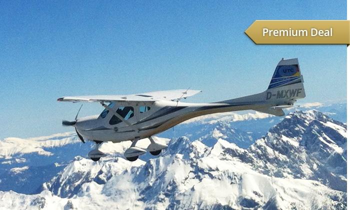 UTC Flugschule - UTC Flugschule: Ultraleicht-Rundflug über das Alpenland o. München inkl. Selbstfliegen mit der UTC Flugschule ab 119,90 €